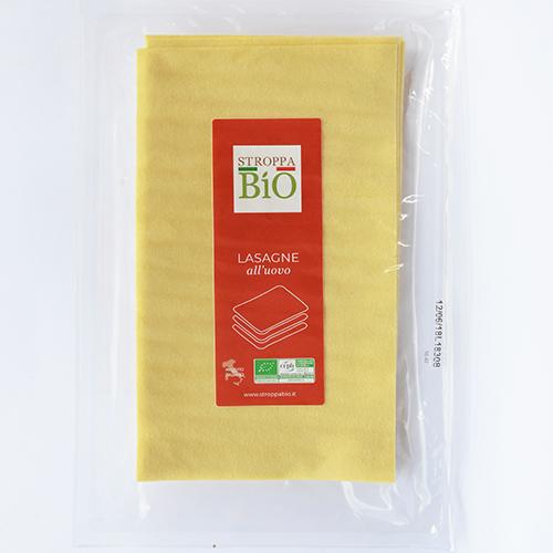 Lasagne all'uovo Stroppa Bio