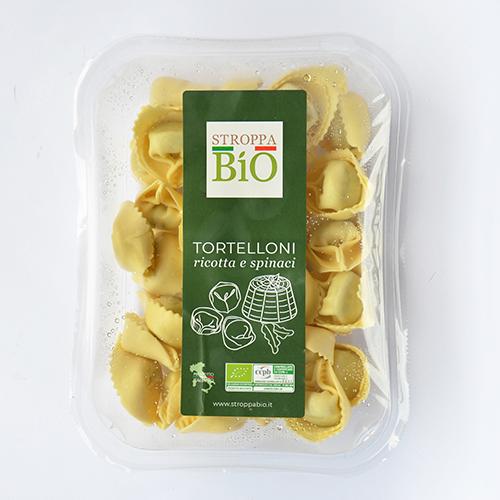 Tortelloni ricotta e spinaci Stroppa Bio